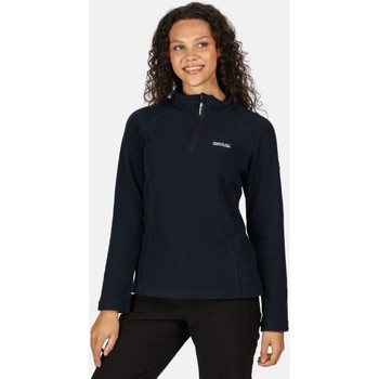 Clothing Women Fleeces Regatta Kenger Half Zip Honeycomb Fleece Blue Blue