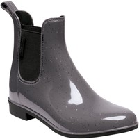 Shoes Women Wellington boots Regatta LADY HARRIETT Wellingtons Magent Black Grey Grey