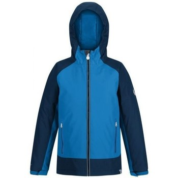 Clothing Boy Jackets Regatta Kids' Hurdle III Waterproof Insulated Jacket Blue