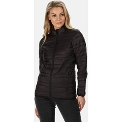 Clothing Women Coats Professional FIREDOWN Insulated Jacket Seal Grey Black Black