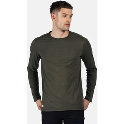 Clothing Men T-shirts & Polo shirts Regatta KARTER II TShirt Green