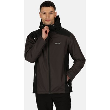 Clothing Men Coats Regatta Thornridge II Waterproof Insulated Walking Jacket Black Black