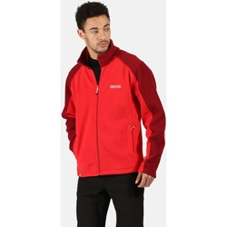 Clothing Men Fleeces Regatta Hedman II Heavyweight Full Zip Fleece Red Red