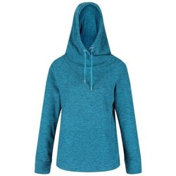 Clothing Women Fleeces Regatta Women's Kizmit II Hooded Marl Fleece Blue