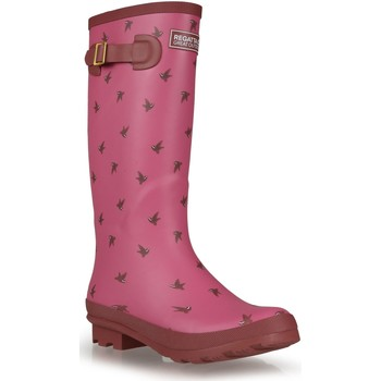 Shoes Women Wellington boots Regatta LADY FAIRWEATHER II Wellingtons Burgundy Purple Purple