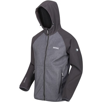Clothing Men Coats Regatta AREC II Softshell Grey