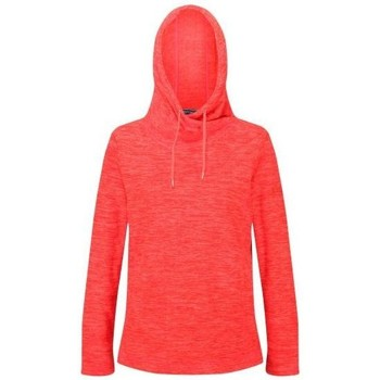 Clothing Women Fleeces Regatta Kizmit II Hooded Marl Fleece Orange Orange