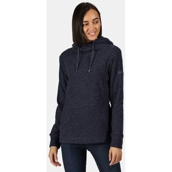 Clothing Women Fleeces Regatta Kizmit II Hooded Marl Fleece Blue Blue