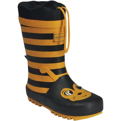 Shoes Children Wellington boots Regatta MUDPLAY JUNIOR Wellingtons Yellow