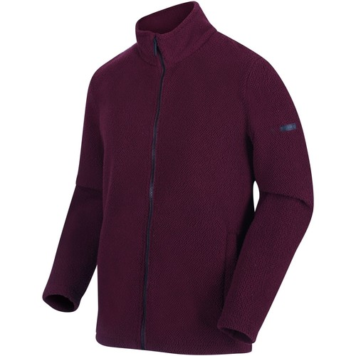 Clothing Men Fleeces Regatta Men's Garrian Full Zip Heavyweight Fleece Burgundy