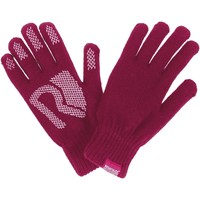 Clothes accessories Women Gloves Regatta Rushley Grip Gloves Beetroot Purple Purple