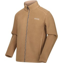 Clothing Men Fleeces Regatta Garrian Full Zip Heavyweight Fleece Seal Grey Black Brown Brown