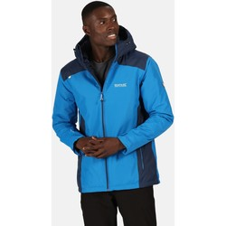 Clothing Men Coats Regatta THORNRIDGE II Waterproof Insulated Jacket Bayleaf Black Blue Blue