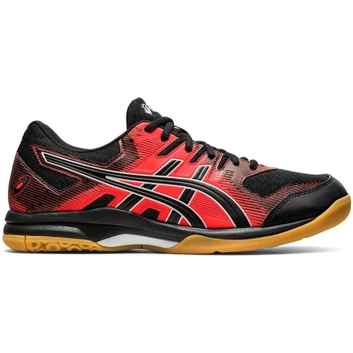 Shoes Men Multisport shoes Asics Gel Rocket 9 Black, Red