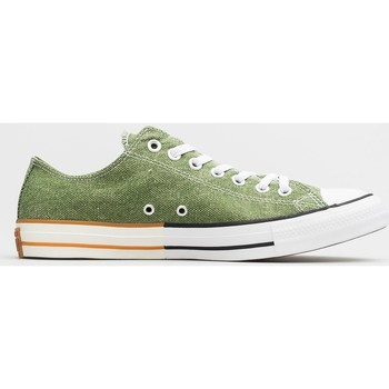 Shoes Men Derby Shoes & Brogues Converse Chuck Taylor All Star OX White,Green