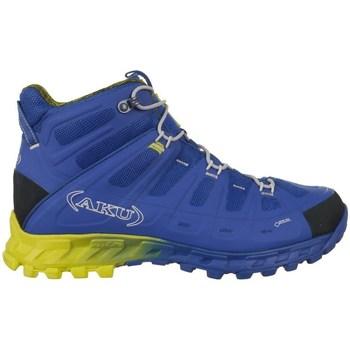 Shoes Men Walking shoes Aku Selvatica Mid Gtx Goretex Blue,Yellow