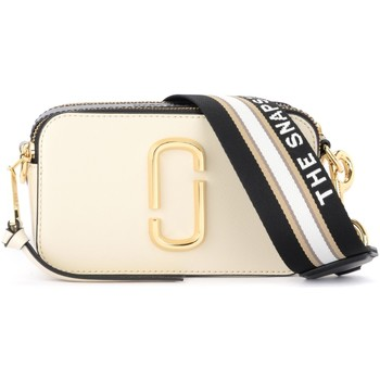 Bags Shoulder bags Marc by Marc Jacobs The  Snapshot white and black shoulder bag White
