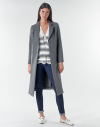 Clothing Women Coats Benetton  Grey