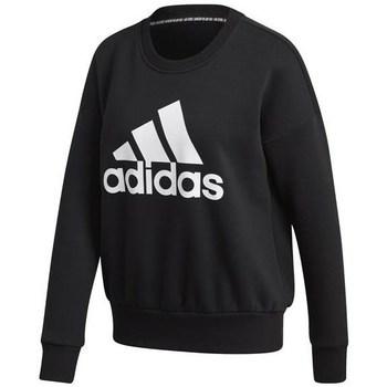 Clothing Women Sweaters adidas Originals W Bos Crewsweat Black