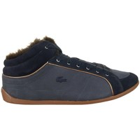 Shoes Women Low top trainers Lacoste Missano Mid 5 Srw Black,Navy blue