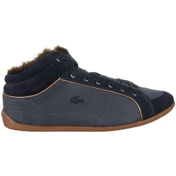 Shoes Women Low top trainers Lacoste Missano Mid 5 Srw Black, Navy blue