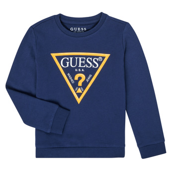 Clothing Boy Sweaters Guess N73Q10-K5WK0-C765 Marine