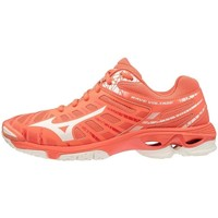 Shoes Women Low top trainers Mizuno Wave Voltage Red