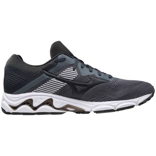 Shoes Men Low top trainers Mizuno Wave Inspire 16 Graphite