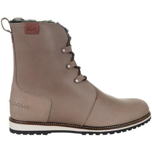 Shoes Women Hi top trainers Lacoste Baylen 5 Brown