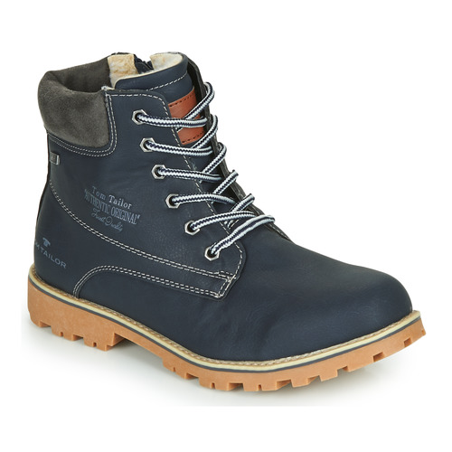 Shoes Boy Mid boots Tom Tailor 70502-NAVY Marine