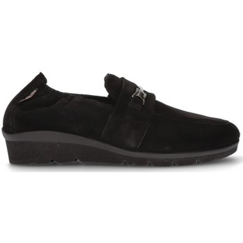 Shoes Women Loafers Mephisto MOBILS NADIRA MOCCASINS BLACK