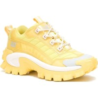 Shoes Women Low top trainers Caterpillar Intruder Yellow