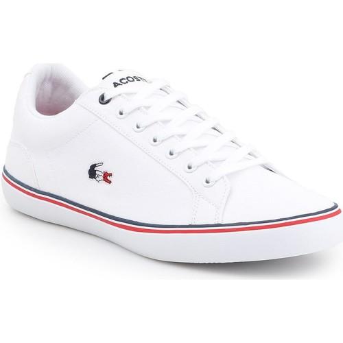 Shoes Men Low top trainers Lacoste Lerond 7-35CAM014821G lifestyle shoes white