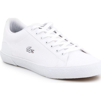 Shoes Men Low top trainers Lacoste Lerond 7-38CMA005621G lifestyle shoes white