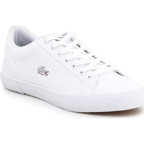 Shoes Men Low top trainers Lacoste Lerond 7-38CMA005621G white