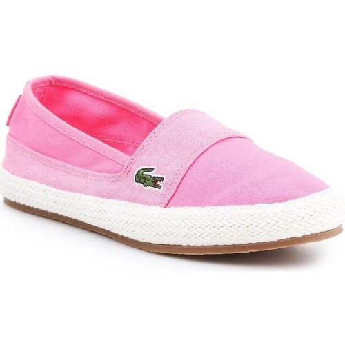 Shoes Women Espadrilles Lacoste Marice 7-35CAW004213C pink
