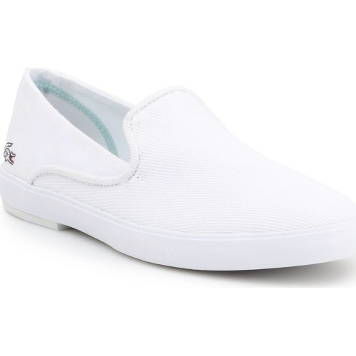 Shoes Women Slip-ons Lacoste Cherre 7-31CAW0106001 white