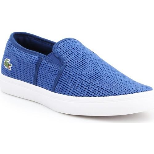 Shoes Women Slip-ons Lacoste Gazon 7-33CAW1074125 blue