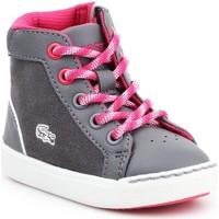 Shoes Children Hi top trainers Lacoste Explorateur 7-32CAI1001248 grey