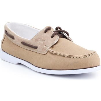 Shoes Men Boat shoes Lacoste Navire Casual 7-31CAM0152C21 brown