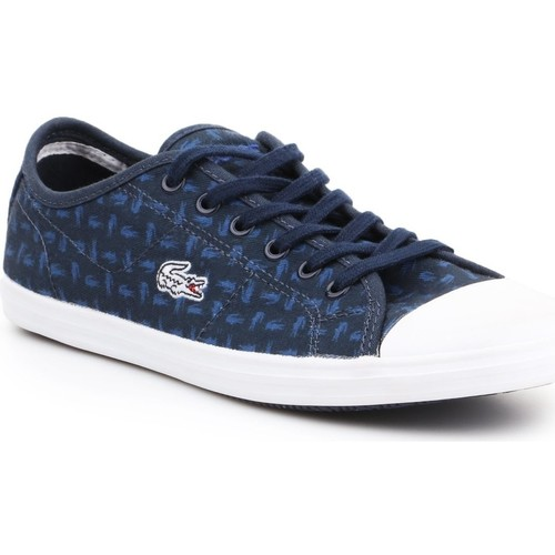 Shoes Women Low top trainers Lacoste Ziane 7-31SPW0038003 navy