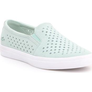 Shoes Women Slip-ons Lacoste Gazon 7-31CAW01342K8 miętowy