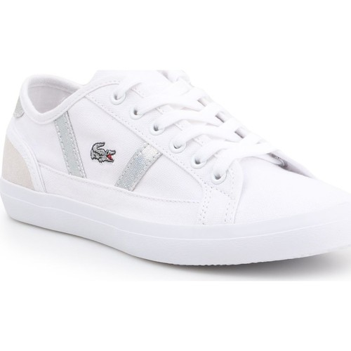 Shoes Women Low top trainers Lacoste Sideline 7-37CFA004321G lifestyle shoes white
