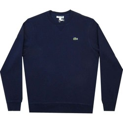 Clothing Men Sweaters Lacoste Sport Cotton Blend Fleece Swt blue