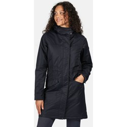 Clothing Women Parkas Regatta Rimona Waterproof Insulated Hooded Parka Jacket Blue Blue