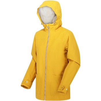 Clothing Women Coats Regatta Bergonia II Waterproof Insulated Hooded Jacket Yellow Yellow