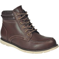 Shoes Men Boots Regatta Robinson PU Casual Boots Black Brown Brown