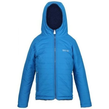 Clothing Children Macs Regatta Kids' Spyra Lightweight Insulated Hooded Walking Jacket Blue