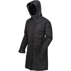 Clothing Women Coats Regatta Women's Rimona Waterproof Insulated Hooded Parka Jacket Black