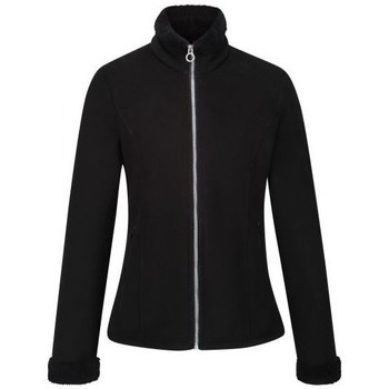 Clothing Women Fleeces Regatta Brandall Full Zip Heavyweight Fleece Black Black Black